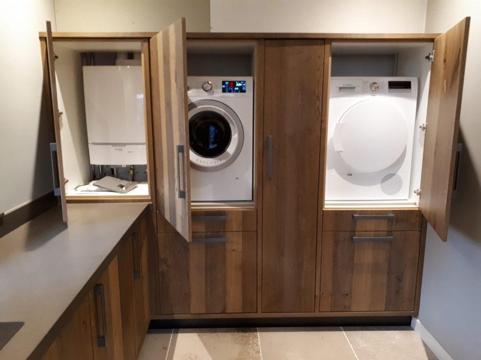 Bijkeuken op maat laten maken maatwerk keuken hout K2 Keukens en Meubels Exclusief 104_resized