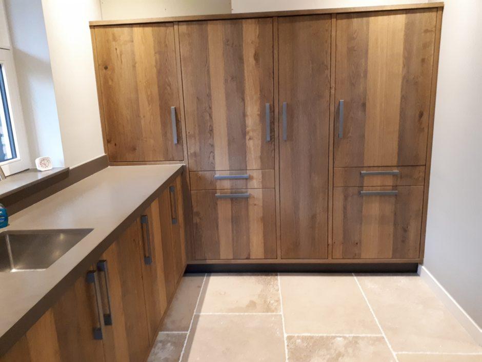 Bijkeuken op maat laten maken maatwerk keuken hout K2 Keukens en Meubels Exclusief 125_resized