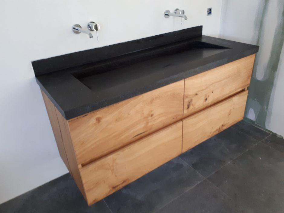 Houten badmeubel maatwerk meubels K2 Keukens en Meubels Exclusief op maat 0