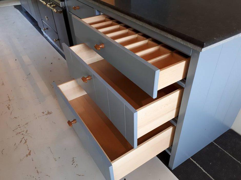 Maatwerk Keukens Essen hout Beligsch hardsteen11