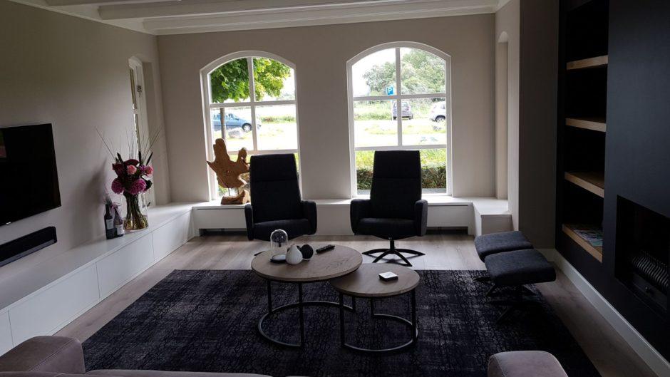 Maatwerk interieur tv meubel handgemaakt Maatwerk meubels op maat hout K2 Keukens en Meubels Exclusief2