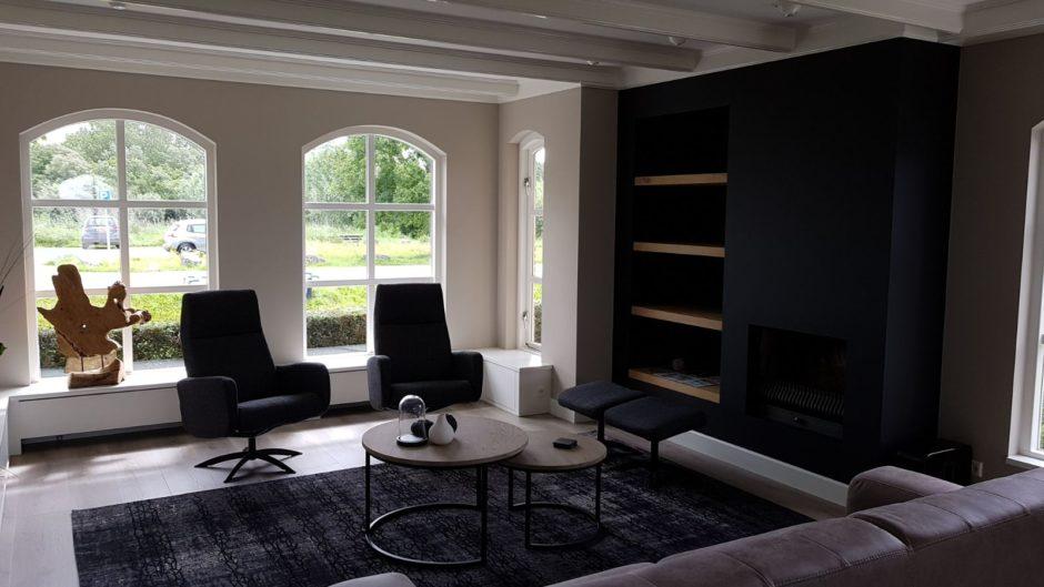 Maatwerk interieur tv meubel handgemaakt Maatwerk meubels op maat hout K2 Keukens en Meubels Exclusief3