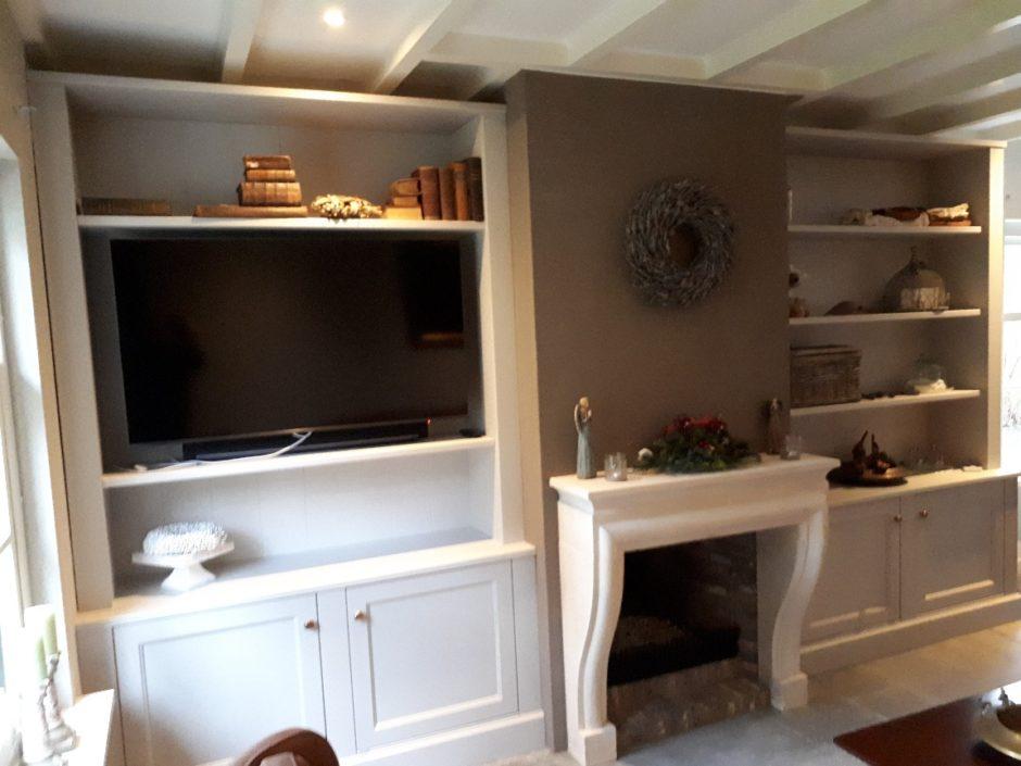 Maatwerk kast kasten en kamer en suite op maat houten maatwerk suites K2 Keukens en Meubels Exclusief 3