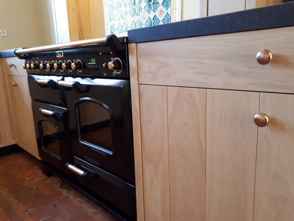 Massief eiken keuken op maat houten maatwerk keukens K2 Keukens en Meubels Exclusief 3