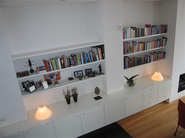 Maatwerk boekenkast
